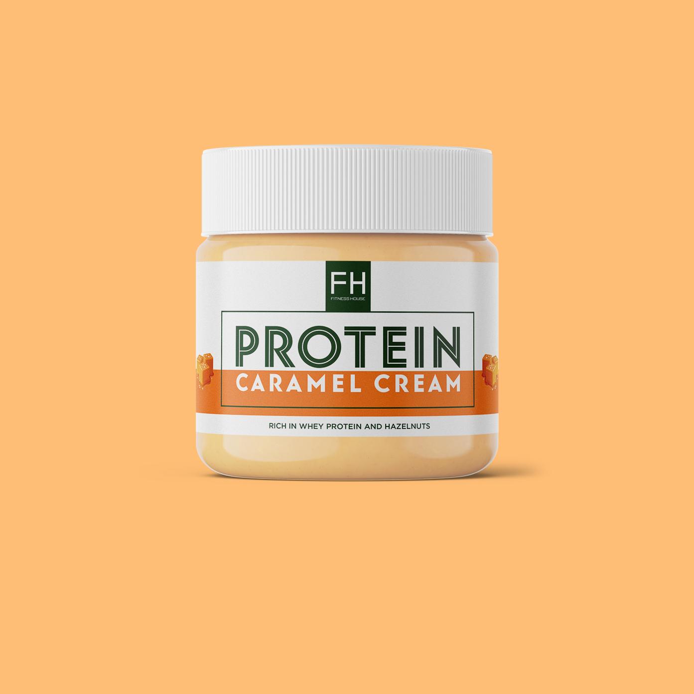 Protein Caramel Cream